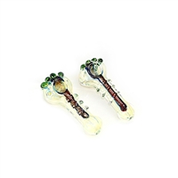 LT-GP30 Dichro claw marble fumed pipe 4''