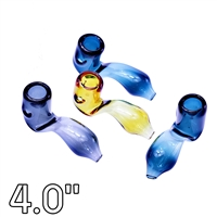 LT-HP-0220  4'' Color Tube Sherlock Pipe