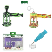 OOZE CLOBB SILICONE WATER PIPE & NECTAR COLLECTOR