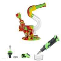 Ooze Swerve Silicone Water Pipe & Nectar Collector