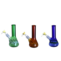 7'' Colored Beaker Water Pipe * Made in the U.S *
