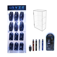 RYZE 350mAh Variable Voltage 510  w/ USB Charger - 72 Count With Display