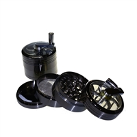 Sharper 4 Piece 2.5''  With Handel Lid Zinc Grinder