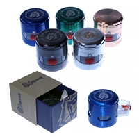 Shredder Premium Grinder  4 Piece  2.2'' Zinc Pull-Compartment