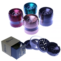 Shredder Premium Grinder  4 Piece  2.2'' Zinc Ashtray Top