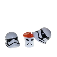 White Trooper 4.5'' Silicone Pipe