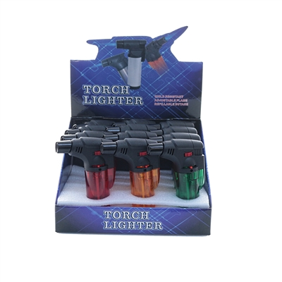 TORCH 50013 - 45 Degree Torch lighter with assorted colors