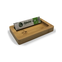 Afghan H Wooden Rolling Tray  Mini
