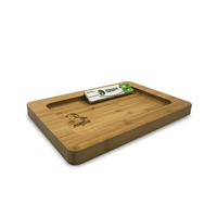 Afghan H Wooden Rolling Tray  Medium