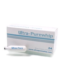 Ultra Pure Cream Chargers  25 Boxes of 24 Packs