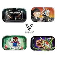 V. Syndicate™  The Rollin' Tray™ Medium 10.5 in x 6.25 (16 Designs)