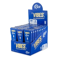 Vibes Cones King Size Slim - 3pk - Rice - 30ct