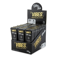 Vibes Cones 1 1/4 - 6pk - Ultra Thin - 30ct