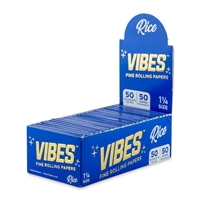 Vibes Papers 1 1/4 - Rice - 50ct