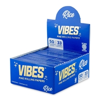 Vibes Papers King Size Slim - Rice - 50ct