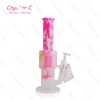 "Waxmaid  Crystor C 13"" Silicone Water Pipe"