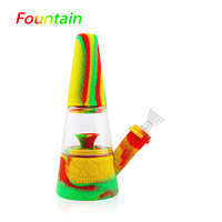 Waxmaid  Fountain Silicone Water Pipe with Perc