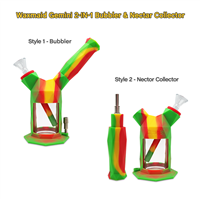Waxmaid 2IN1 Silicon Waterpipe/Nectar Collector