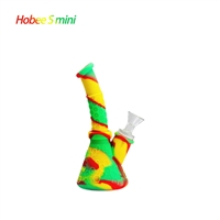 "Waxmaid 6.6"" Hobee S Mini Silicone Beaker Water Pipe"