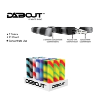 White Rhino DABOUT Silicone Kit With Quartz Glass Tip ( 21 Per Display)