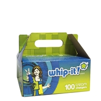 Whip-it! Cream Chargers  6 Boxes of 100 Packs