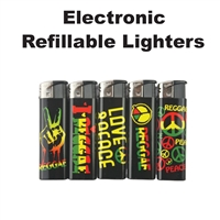 Electronic Refillable Lighter 50ct