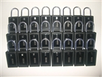 24 Lock Boxes Realtor Real Estate Key 4 number digit dials door lockboxes handle
