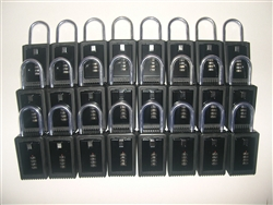 48 Lock Boxes Realtor Real Estate Key 4 number digit dials door lockboxes handle