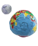 Earth, Hugg-a-Planet, 12 inch with Moon by Hugg-a-Planet