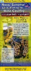 Napa and Sonoma, Road and Recreation Wine Country Guide by Great Pacific Recreation & Travel Maps