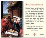 "<b><font color=""#FF0000"">Novena Prayer for Advent</font></b>"