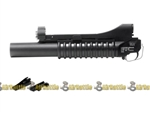 ECHO1 M203 40mm Long Airsoft Grenade Launcher w/ RIS & Barrel Mounts