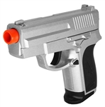 CYMA ZM01S Full Metal Spring Airsoft Pistol - Silver