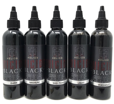Suicide Black 5 Shades of Darkness - 4oz