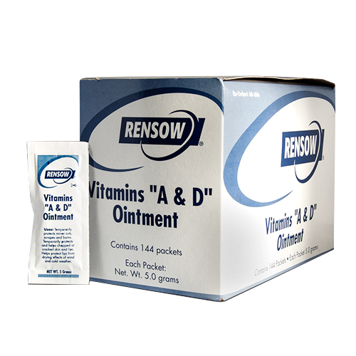 Rensow A&D Ointment Foil Packets - Box of 144