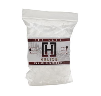 Helios Ink Caps with base Medium - bag of 100