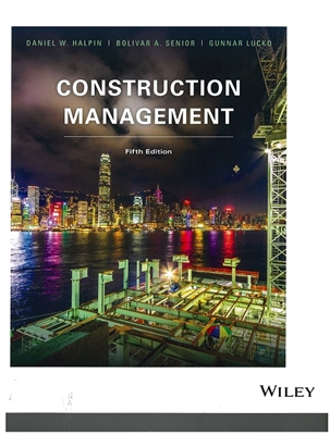 Construction Management Fifth Edition