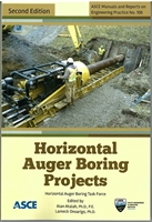 Horizontal Auger Boring Projects 2nd Edition ASCE  Manual of Practice (MOP) 106