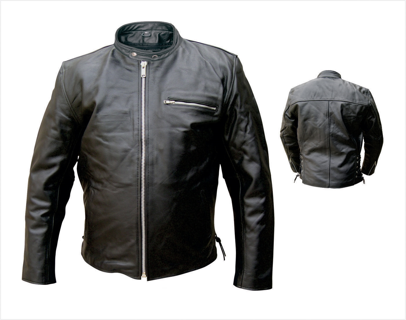 e3c0140b0a6 Men s Basic Scooter jacket with Euro collar. Zipout liner