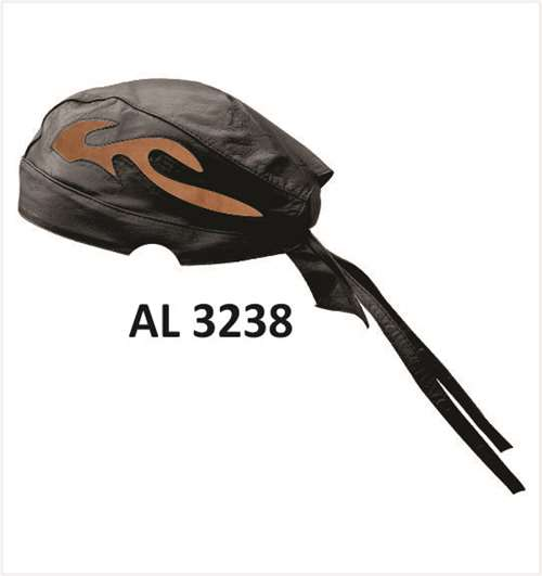 855405d5597 Skull cap with Brown Flames (Buffalo)