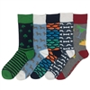 The School of Sock - The All Things Fun Pack of Socks