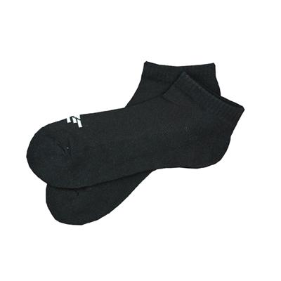 The School of Sock - IZE Black Athletic Short Sock