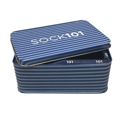 The School of Sock KC Gift Tin Packaging