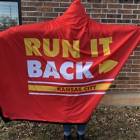 The School of Sock - Run it Back KC Cozy Cape Blanket