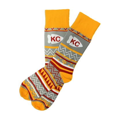 The School of Sock - The Aztec Kansas City Sock