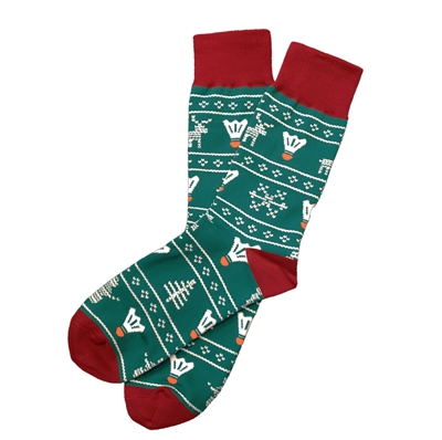 The School of Sock - The Ugly Sweater Kansas City Sock