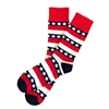 The School of Sock - The Lincoln Navy, Blue, Red and White Stripe America Sock