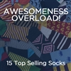 The School of Sock - The Awesomeness Overload Package of Socks - Multiple Designs