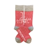 The School of Sock - The Play Red and Gray Kansas City Sock