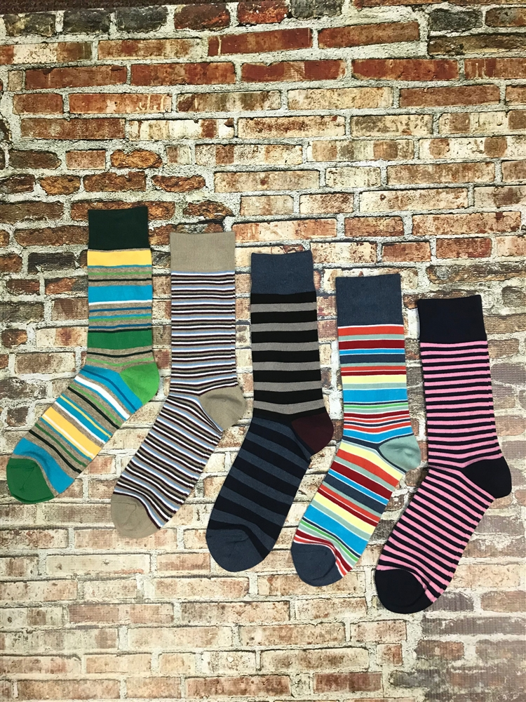 95b8bd0c7fa84 The School of Sock The Earn Your Stripes Package of Striped Socks